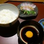 瀬戸内旬菜 棗 - 宇和島鯛ひゅうが飯です。(2017年8月)