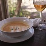 カフェ・ドゥ・リエーヴル うさぎ館 - パンプキンのスープ