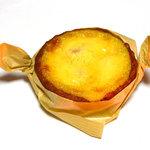 シュクレ シュクレ - 焼き菓子の店 シュクレ シュクレ(白桃のバニラプディング)