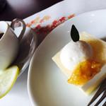 日本料理松風庵 - 夏のデザートと紅茶