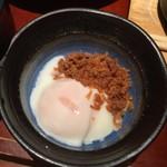 和心庭 一蔵 - 選べる950円ランチB副菜を温玉鶏そぼろ