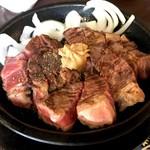 いきなり!ステーキ - ワイルドステーキ450g ライス無し(1,700円)