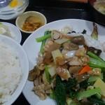 71923810 - 鶏と海鮮炒め