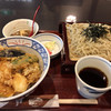 蕎麦司 紅がら - 料理写真:天丼セット ざる 1,150円