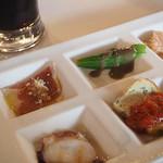 マカロニ食堂 - 前菜のセット
