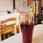 マカロニ食堂 - ランチドリンク