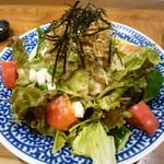 うんすい - オクラとナメコの胡麻ポンサラダ