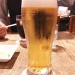 伊達の牛たん本舗 - 生ビール 540円