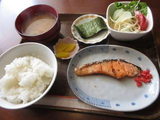 ウォールナッツ - モーニング和食 Bセット 600円 (2017.8)