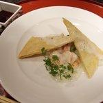 ステーキ円山 - 魚介のクリームホットパイ