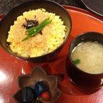 ステーキ円山 - 海老そぼろ御飯