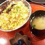 ステーキ円山 - ガーリックライス