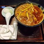 みのち庵 - 辛口カレー南蛮(1,040円)
