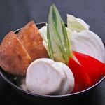 博多もつ処 浜や - 焼き野菜盛り
