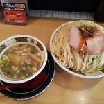 すごい煮干ラーメン凪 - つけ麺(麺量600㌘)