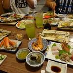 民宿三井 - ある日の夕食