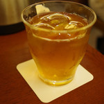 ナニワヤ・カフェ - アイスほうじ茶