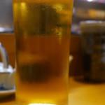地鶏焼き処 とり酉 - 生ビール 550円税抜き