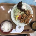 明石食堂 - 唐揚げ定食