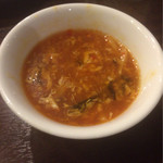 本格中華食べ放題 天香府 - サンラースープ