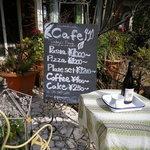 ガーデン&クラフツ カフェ - 外のメニュー