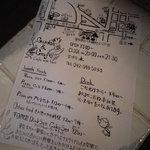 ガーデン&クラフツ カフェ - お店のチラシ