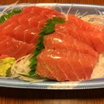 魚店 - 料理写真:「目鉢鮪とろ」1船 700円