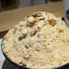 コリアンデザートカフェ ソルビン - 料理写真:きな粉餅ソルビン