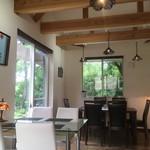 cafe香房 - カフェ香房の店内