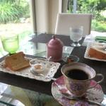 cafe香房 - カフェ香房のアフタヌーンティーサービス