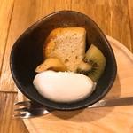 薬膳&米粉カフェ やまのひつじ - シフォンケーキ