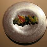 食文化サロン 白金劉安 - 五色二十種の野菜のXO醬炒め1