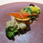 食文化サロン 白金劉安 - 五色二十種の野菜のXO醬炒め2