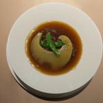 食文化サロン 白金劉安 - フカヒレの餡かけご飯1