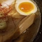 めん屋 大介 - 魚介ドロッとスープ