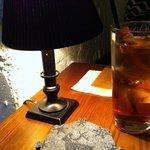 フォニックフープ - テーブルとグラス敷