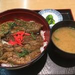 そば食事処 露風庵 - ハモ丼750円
