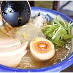 """71961709 - 冷やし柚子塩麺(鶏) 1180円 その名の通り""""柚子""""の風味が生きた一杯です。"""