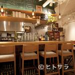 マッシュルームトーキョー - フランスのマルシェにある食堂のような、明るくオシャレな店内