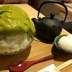 もみじ茶屋 - エスプーマかき氷