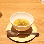 Point - ☆茶豆とジュンサイのロワイヤル