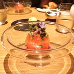 Point - ☆トマトのファルシとオマール海老のスープ