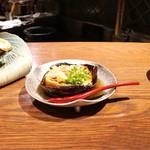 ぽんしゅや 三徳六味 - ☆賀茂茄子焼き浸し 580円