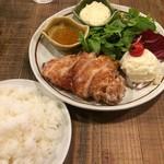 wine no Ruisuke - チキン南蛮とライス