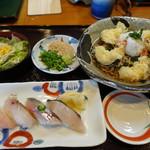 ふるさと - 握り寿司ランチ