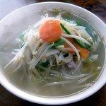 西華苑 - 料理写真:もやし中華