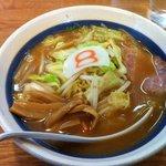 8番らーめん - 野菜味噌ラーメン567円