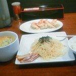 7197705 - 野菜味噌つけ麺餃子セット