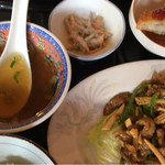 神仙閣 - 料理写真:青椒肉絲ランチ