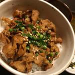 膳 - ミニ豚カルビ丼